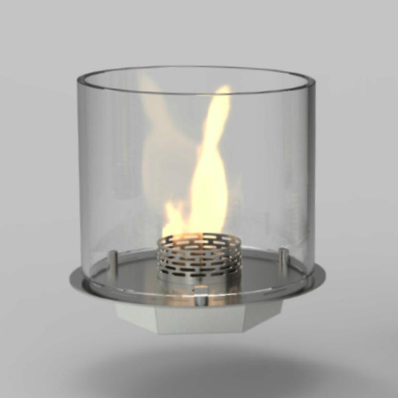runder Brenner für Bioethanol