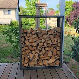 Holzlager aus beschichtetem Edelstahl