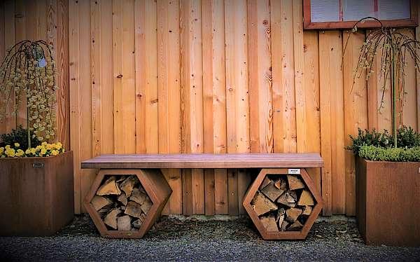 Sitzbank Hexagon
