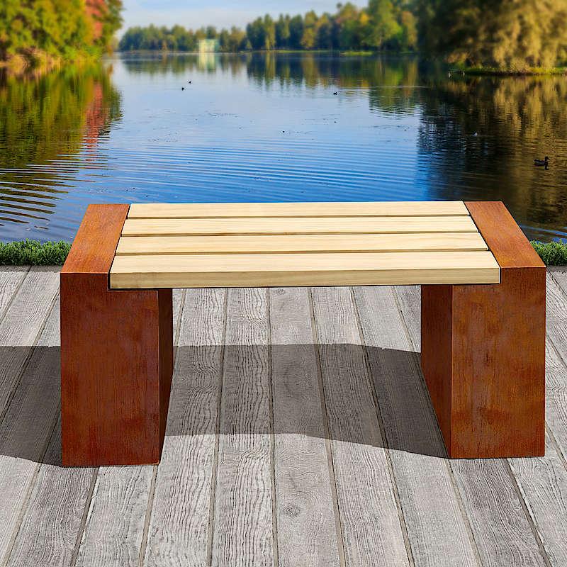 Sitzbänke im Industrial Design