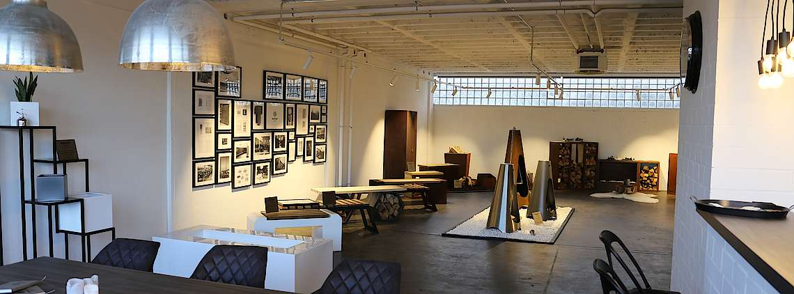 Industrial Schowroom Ausstellung